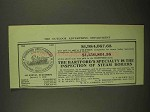 1909 Hartford Steam Boiler Inspection and Insurance Ad