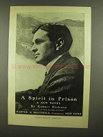 1908 A Spirit in Prison Novel Ad - Robert Hichens