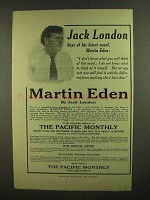 1908 Martin Eden Novel Ad - Jack London