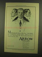 1908 Arrow Collars Ad - Olympic and Carlton