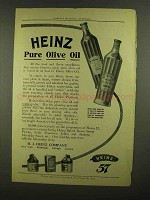 1908 Heinz Pure Olive Oil Ad