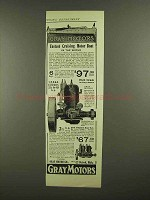 1908 Gray Motors Ad - The Grayling Yacht