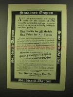 1908 Stoddard-Dayton Cars Ad - One Quality for All