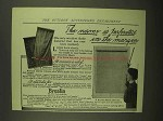 1908 Brenlin Window Shades Ad - Name is Perforated
