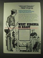 1972 West Virginia Industrial Development Division Ad