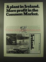 1972 Ireland Development Authority Ad - Common Market
