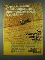 1972 Shell Bladex Herbicide Ad - No Problems