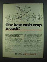 1972 Sperry New Holland Equipment Ad - Best Cash Crop