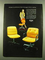 1972 All-Steel 200 Series Chairs Ad - Bring Comfort