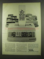 1972 Victor Electronic Calculators Ad - Odds 10 to 1