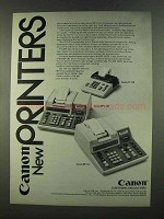 1972 Canon TP 120, MP 142R and MP 141 Calculators Ad