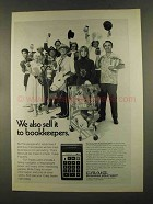 1972 Craig 4501 Pocket Calculator Ad - To Bookkeepers