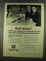 1972 Maytag Washers Ad - Good Money?