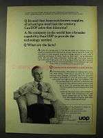 1972 UOP Universal Oil Products Company Ad, Won't Last