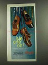 1972 Douglas Shoes Ad - Tie One On