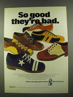 1972 Hush Puppies Shoes Ad - So Good They're Bad