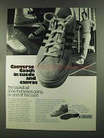 1972 Converse Coach Shoes Ad - Suede and Canvas
