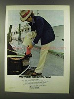 1972 Interwoven Crew-Sader Anti-Static Orlon Socks Ad