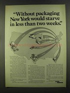 1972 St. Regis Paper Ad - Without Packaging