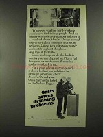 1972 Oasis Water Cooler Advertisement - Solves Drinking Problems