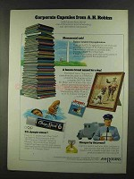 1972 A.H. Robins Company Ad - Corporate Capsules
