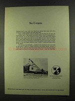 1972 Warner & Swasey Hydraulic Crane Ad - No U-Turn