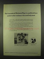 1972 Warner & Swasey Shaft Turning Machines Ad