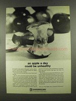 1972 Caterpillar Tractor Co. Ad - An Apple a Day