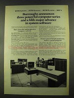 1972 Burroughs 4700, 3700 and 2700 Computer Systems Ad