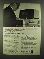 1972 United Telecom Ad - I Need a Crystal Ball