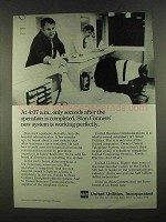 1972 United Utilities Ad - After the Operation