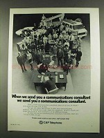1972 C&P Telephone Ad - Communications Consultant