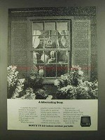 1972 Sony TV 112 Indoor Outdoor Portable Television Ad