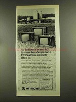 1972 Hitachi Solid-State All-Transistor TV Ad