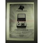 1972 Craig 2623 Model Portable Cassette Recorder Ad