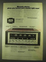 1972 Marantz Model 4100 Control Amplifier Ad