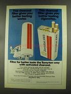 1972 Tareyton Cigarettes Ad - For Better Taste