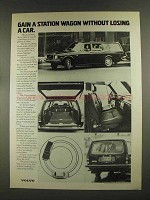 1972 Volvo 145E Station Wagon Ad - Gain a Wagon