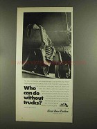 1972 ATA Great Dane Trailers Advertisement - Who Can Do Without