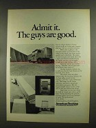 1972 American Trucking Association Ad - Guys are Good