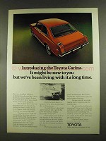 1972 Toyota Carina Ad - Might be New To You