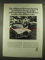 1972 Rolls-Royce Car Ad - The Difference Leasing