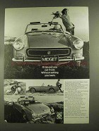 1972 MG Midget Ad - Put You Out Front