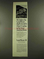 1972 Land Rover Series III Truck Ad - The Depth Record