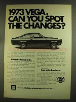 1973 Chevrolet Vega Ad - Can You Spot the Changes?