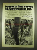 1972 First Union National Bank Ad - Things Different