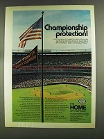 1972 The Home Insurance Ad - Three Rivers Stadium