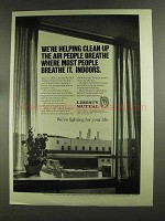 1972 Liberty Mutual Ad - Clean Up Air People Breathe