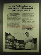 1972 Allstate Insurance Ad - Business Made Easy