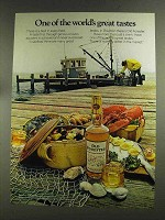 1972 Old Forester Bourbon Ad - World's Great Tastes